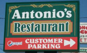 Antonio's Restaurant Free Parking