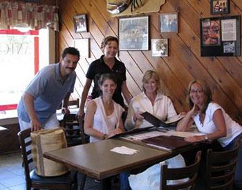 Martha Stewart visits Antonio Restaurant