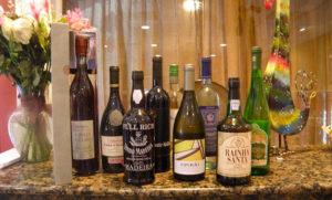 Antonio's Restaurant Wines
